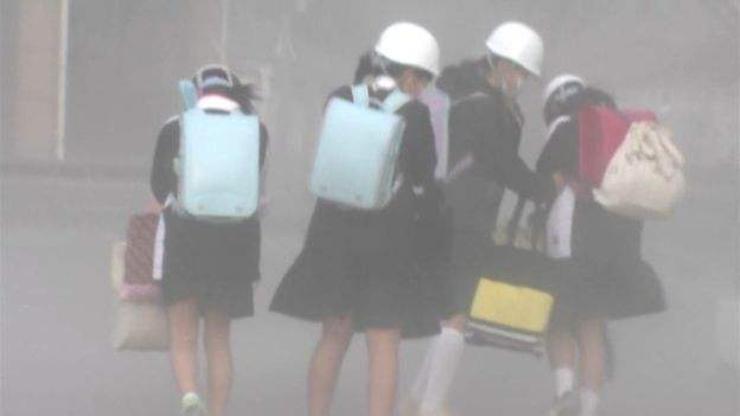 Японд галт уулын дэлбэрэлт болж байна