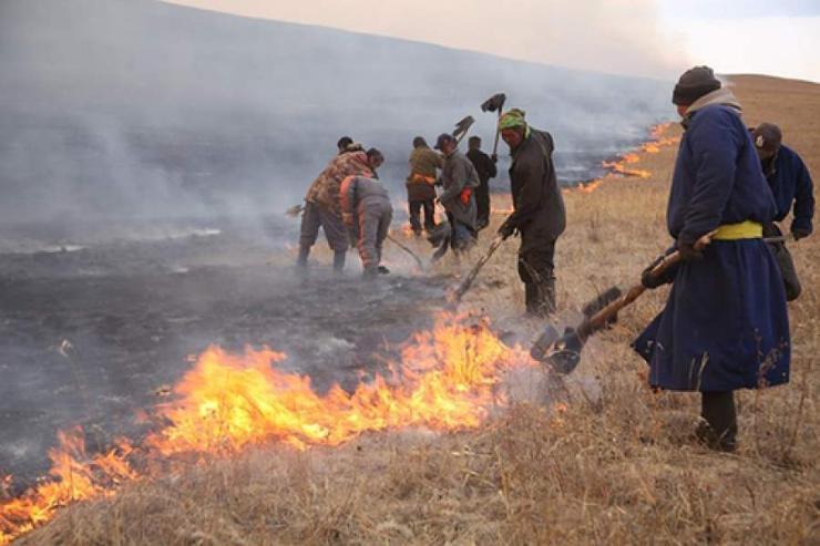 Хөвсгөлийн түймэр нэн аюултайд хүрчээ