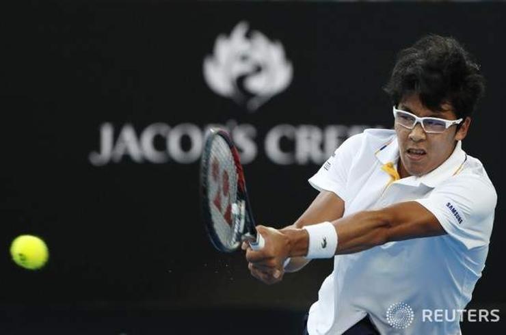 Талбайн теннисний шинэ од Чон Хён чансаагаа 19-д хүргэлээ