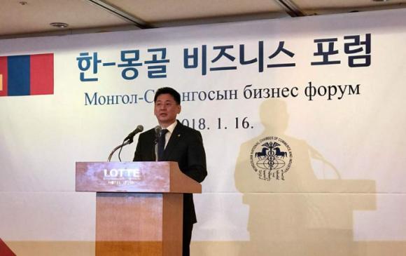Монгол, БНСУ-ын Бизнес форум боллоо