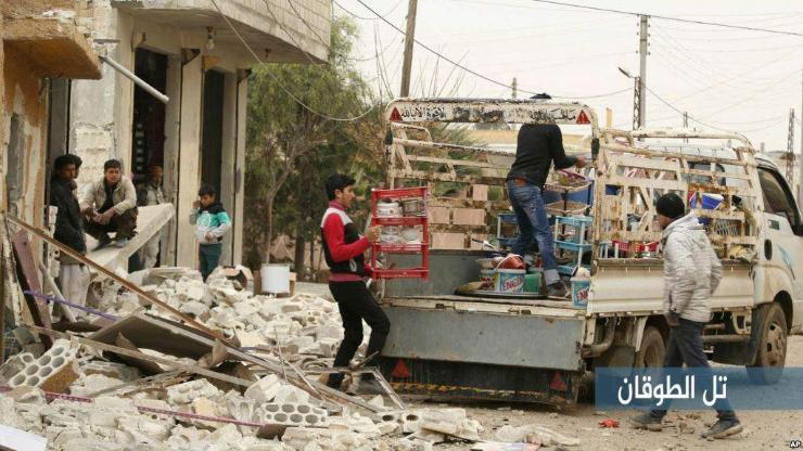 Сирид хүмүүнлэгийн гамшиг нүүрлэлээ