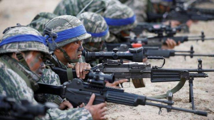Солонгосын хойгт цэргийн сургуулилт эхэллээ