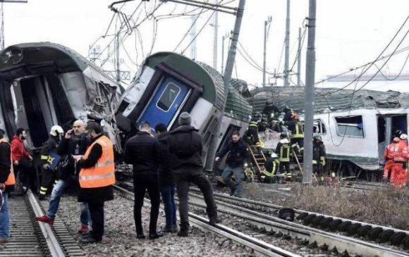 Миланд галт тэрэг замаасаа гарч, гурван хүн амиа алджээ