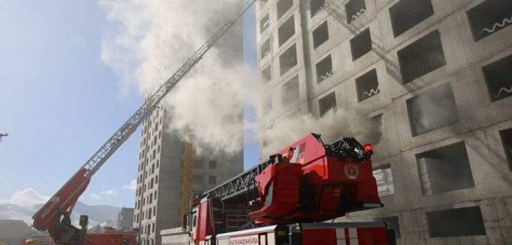 Өндөр барилгад гарсан гал түймрийг унтраах тактикийн сургууль зохион байгууллаа