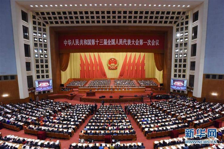 Хятадын Ардын төлөөлөгчид хуралдаж байна