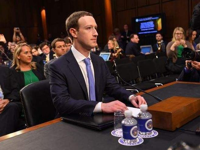 Марк Цукерберг Сенатад мэдүүлэг өглөө