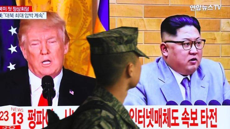 Залуу Ким өвгөн Трампт буулт хийх үү?