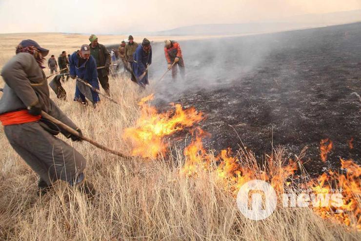 Цас бага орсноос ой хээрийн түймэр эрт гарах магадлалтай