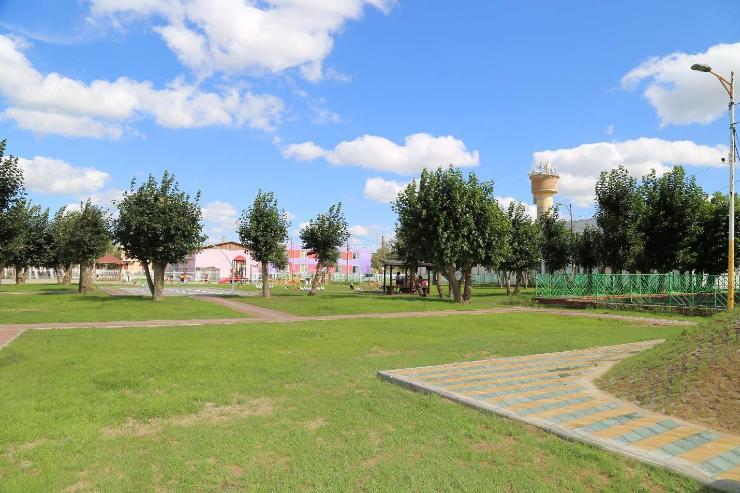 Хан-Уул дүүргийн Туул тосгон шинэ цэцэрлэгт хүрээлэнтэй боллоо