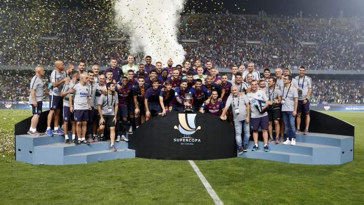 Барселона супер цомыг хүртлээ