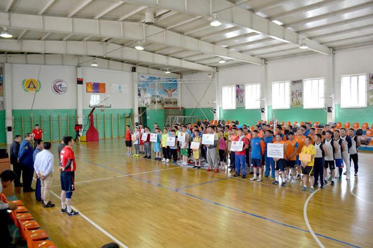 Нийслэлийн Онцгой байдлын газрын олон төрөлт спортын тэмцээн эхэллээ