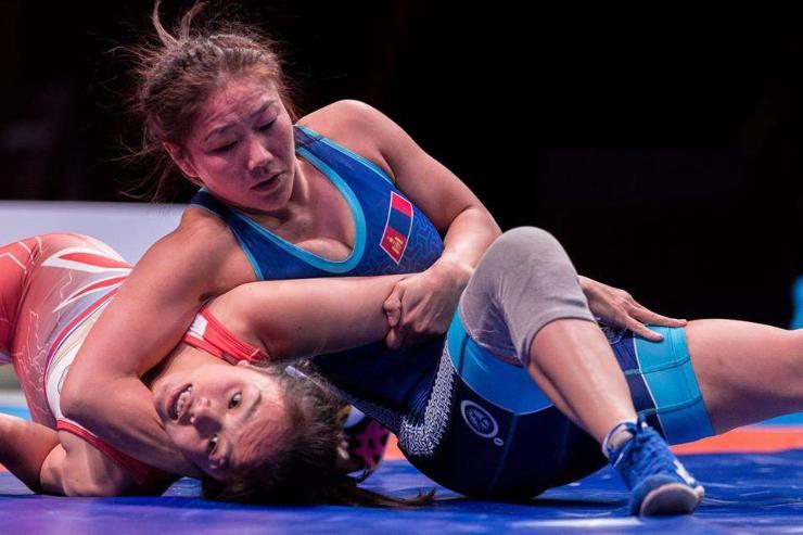 Э.Сумъяа Азийн наадмаас хүрэл медаль хүртэв