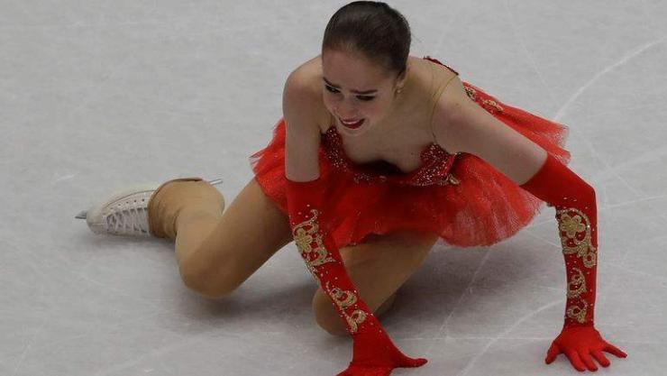 Олимпийн аварга А.Загитова медальгүй хоцорлоо
