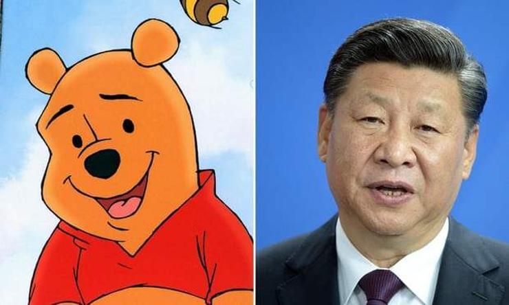 'Винни Пүх'-ийн киног Хятадад гаргахыг хоригложээ