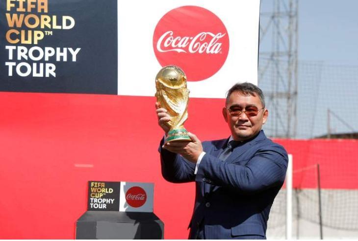 Ерөнхийлөгч Х.Баттулга хөлбөмбөгийн ДАШТ-ий Алтан цомыг өргөж, үг хэллээ