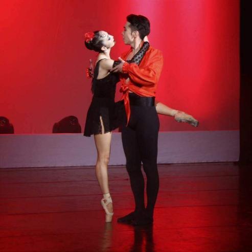 Хоёр өөр мэдрэмж, өнгөтэй сонгодог модерн бүжигтэй