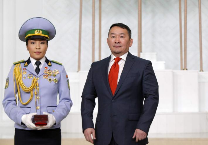 Д.Сумъяа Монгол Улсын Хөдөлмөрийн баатар боллоо