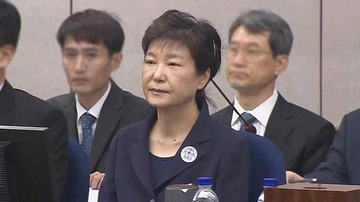 Пак Гын Хэ-д 24 жилийн ял оноолоо