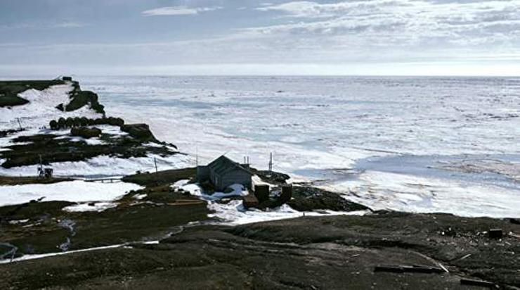 Оросын Арктик хавийн эрэг их бохирдсон