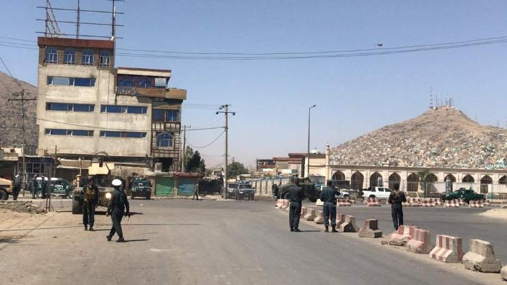 Афганистан пуужингийн дайралтад өртжээ
