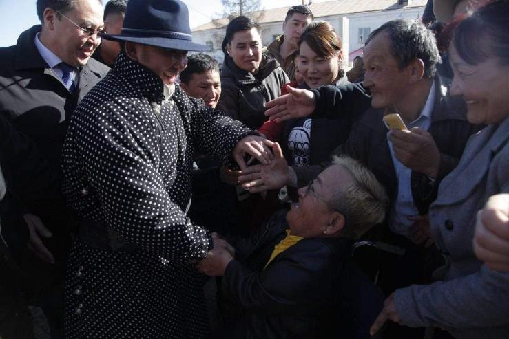 Монгол Улсын Ерөнхийлөгч Х.Баттулга Багануур, Налайх дүүргийн иргэдтэй уулзлаа