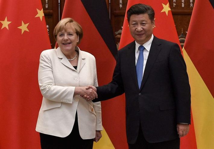 Хятад, Герман Трампын эсрэг хамтарлаа