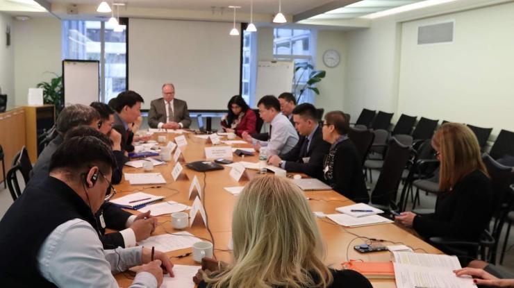 Дэлхийн банкны хөрөнгө буцаах санаачилгын төлөөлөгчидтэй уулзав
