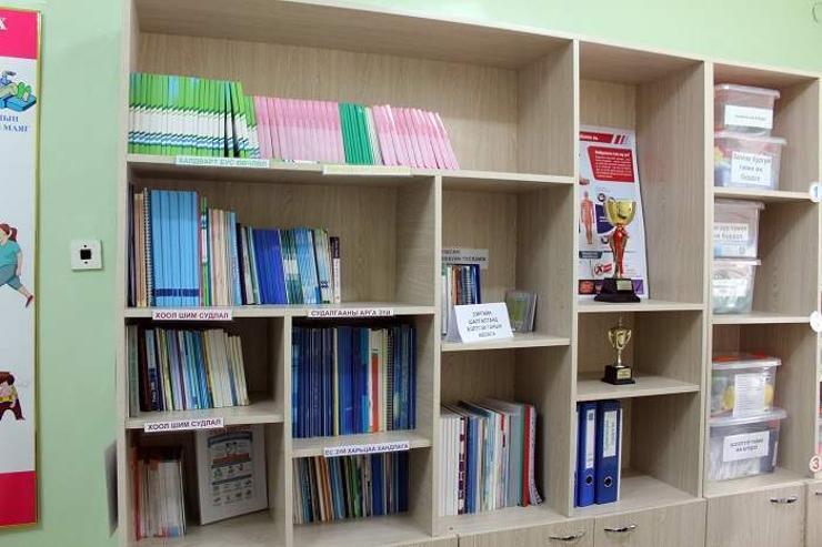Хан-Уул эрүүл мэндийн төвд номын сан нээгдлээ