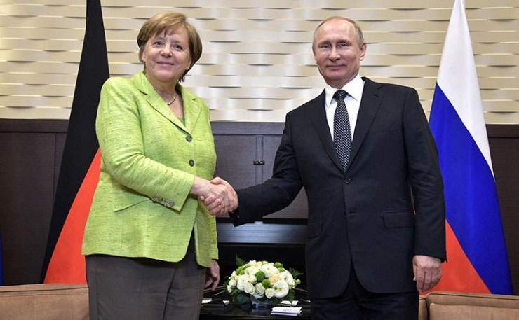 "В.Путин, А.Меркель нарын ""болзоо"" товлогдлоо"