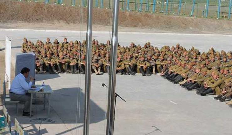 Оюутан цэргүүд өнөөдөр тангараг өргөнө