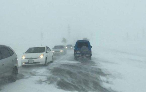 АНХААР: Ихэнх нутгаар цасан шуургайтай