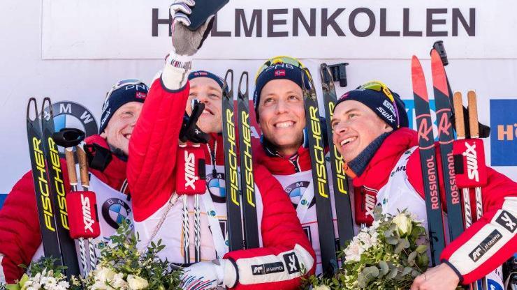 Норвеги залуус 4 уралдааны 3-т нь түрүүллээ