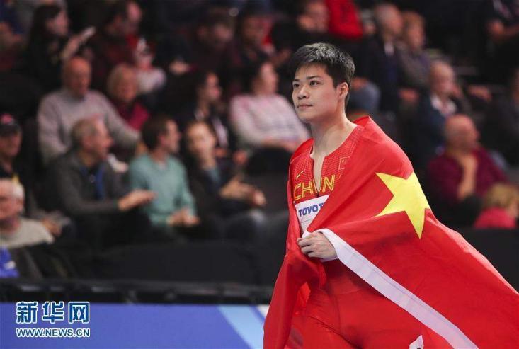 Азийн рекордыг Хятад тамирчин эвджээ