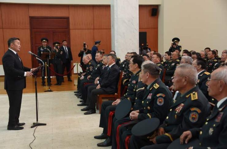 Ерөнхийлөгч, Зэвсэгт хүчний ерөнхий командлагч Х.Баттулга Монголын генералуудын өдөрт зориулж үг хэллээ
