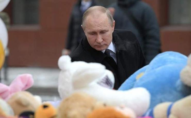 Путин гал түймрийг санамсар болгоомжгүйгээс үүдэлтэй хэмээн шүүмжлэв