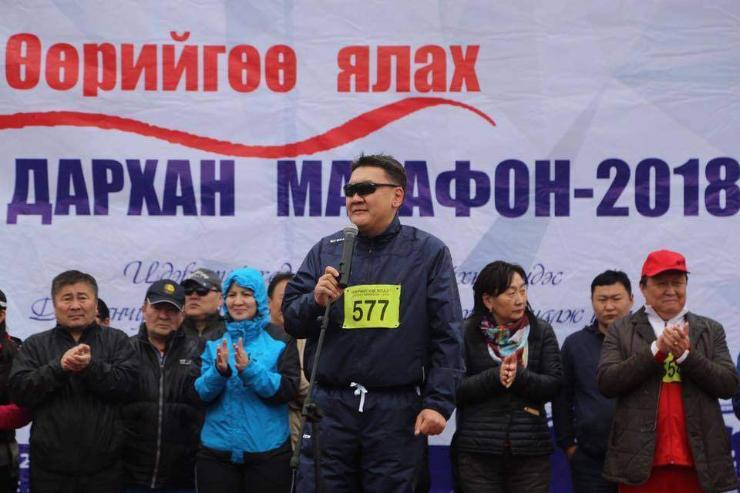 """""""Өөрийгөө ялах"""" марафон амжилттай боллоо"""