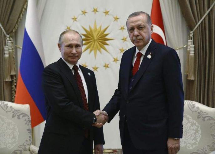 Баруунаас алсарч Орос руу дөхсөн Турк