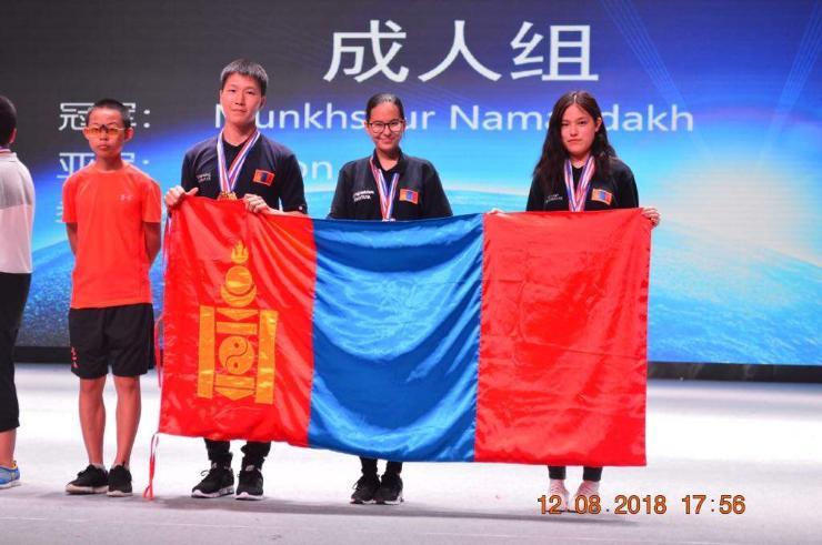 Оюуны спортын тамирчид дэлхийн цомын тэмцээнд ялалт байгууллаа