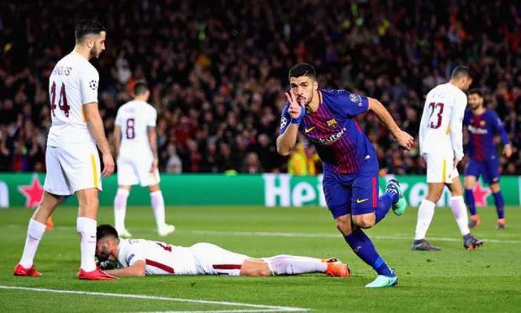 Барселона талбайдаа Ромаг буулгаж авлаа