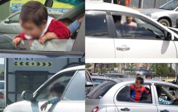 Хүүхдээ урд суудалд тээвэрлэх нь хүчирхийлэл мөн