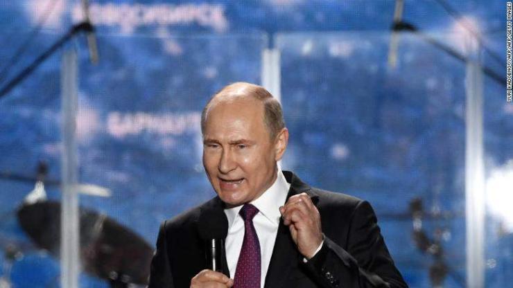 Путин Крымд айлчлав