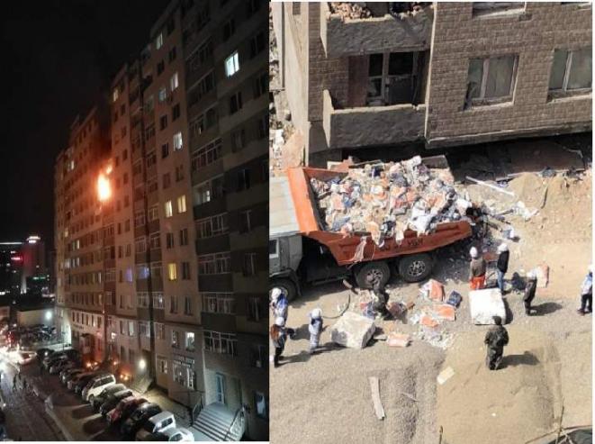 Саруул хороололд гал гарснаас нэг, барилгын хог унаснаас нэг хүн нас баржээ