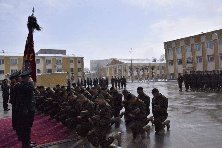 Афганыг зорих энхийг сахиулагчид жанжин тугандаа хүндэтгэл үзүүллээ