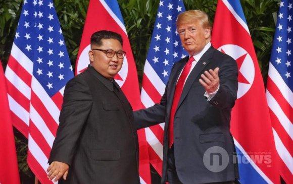 Трамп, Кимийн түүхэн уулзалтын эргэн тойронд