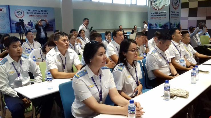 Олон улсын төмөр замчин залуучуудын чуулга уулзалт болж байна