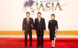 Монгол Улсын Ерөнхий сайд У.Хүрэлсүх БНХАУ-ын дарга Ши Жиньпинд бараалхав