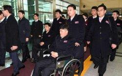 Хойд Солонгосын тамирчид Пёнчанд ирлээ