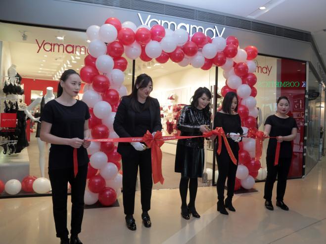 Италийн дотуур хувцасны зах зээлд тэргүүлэгч Yamamay брэндийн дэлгүүр Шангри-Ла моллд нээгдлээ