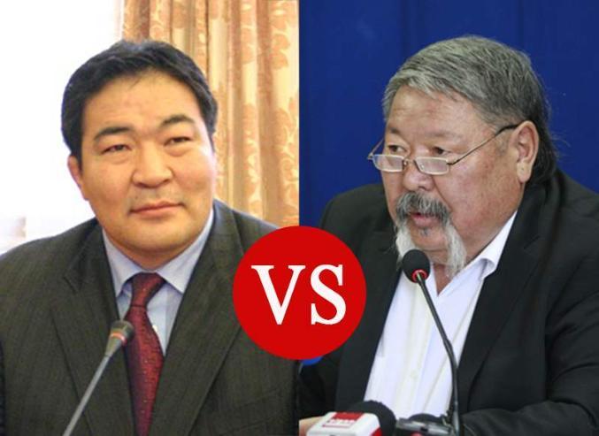 Б.Бат-Эрдэнэ VS Ү.Хүрэлбаатар