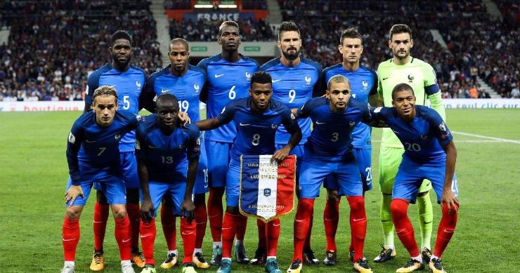 Хөлбөмбөгийн ДАШТ: Францын шигшээ баг